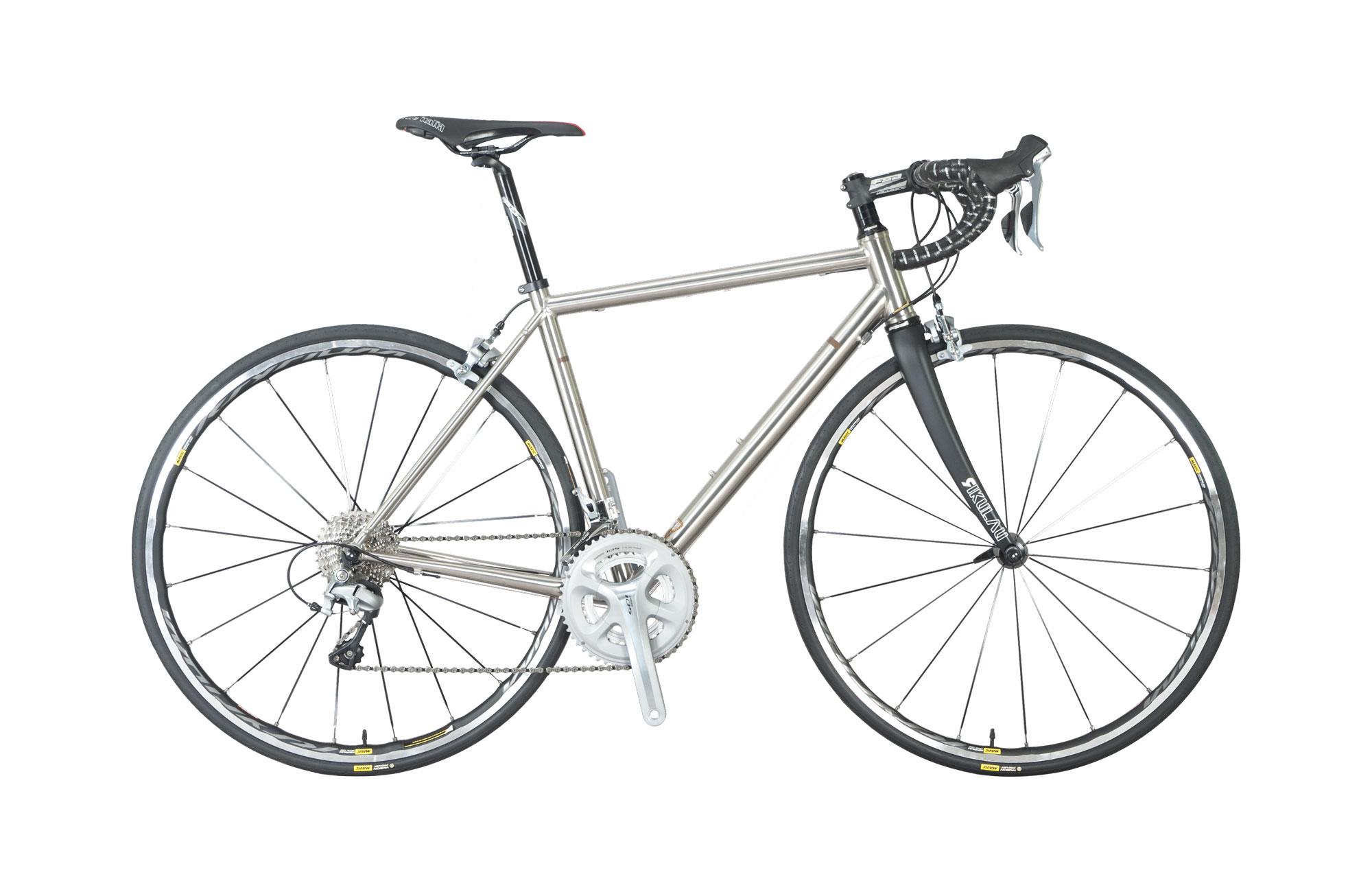 Road Bike - Audax 325Ti (titanium)