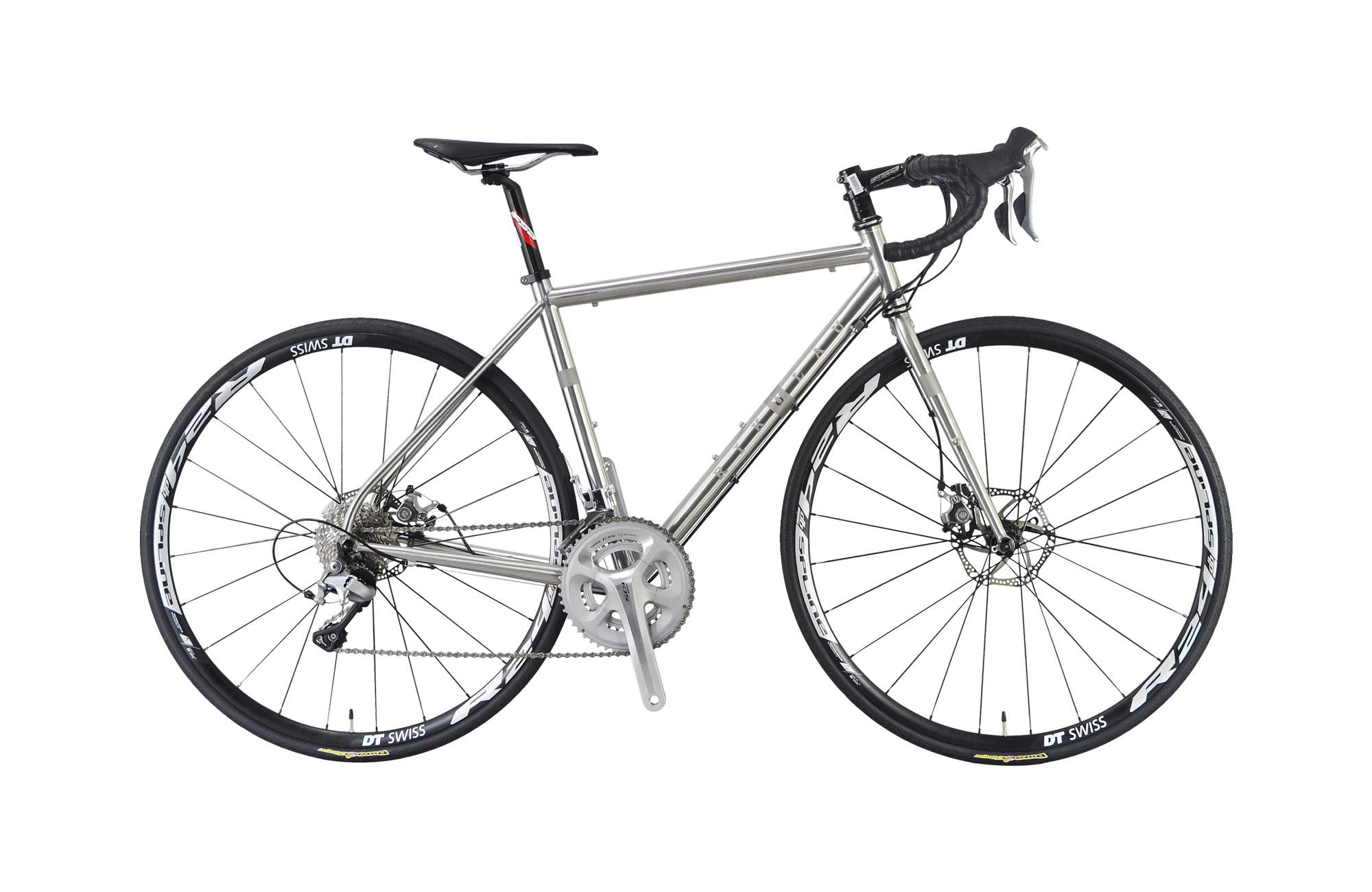 Road Bike - Audax M3 (stainless steel)