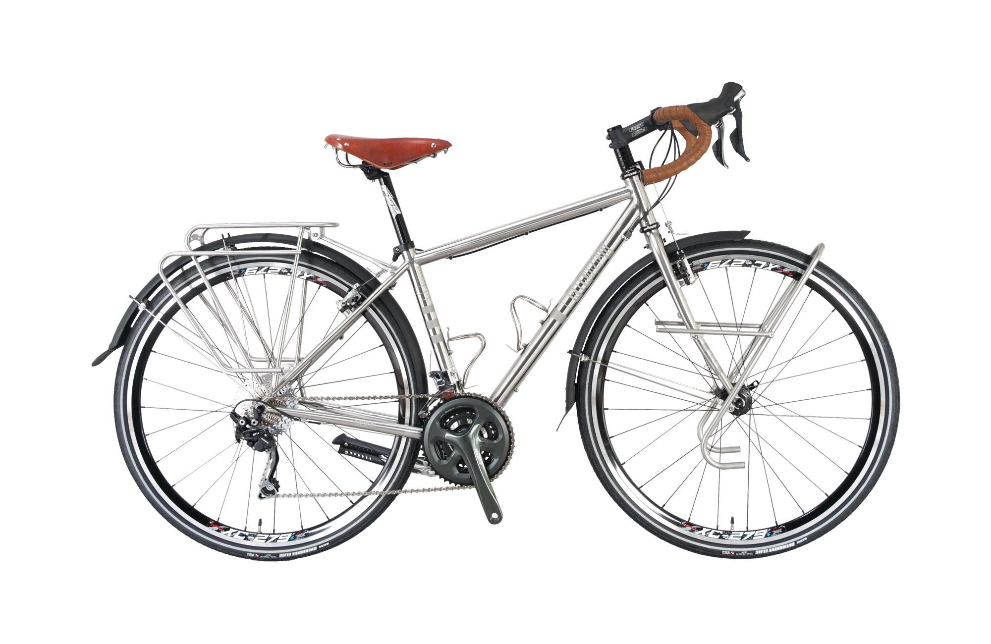 Touring Bike - Mundo M3 (stainless steel)